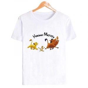 Girls Timon and Pumbaa Lion King Shirt