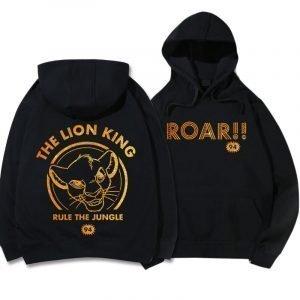 Black Lion King Hoodie