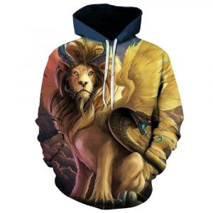 Cool Lion Hoodie