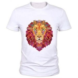 3d Lion T-shirt