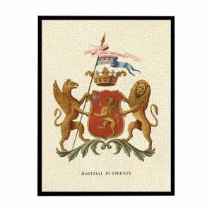 Coat Of Arms Lion Wall Decor