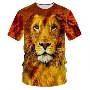 3d Effect Animals T-shirt