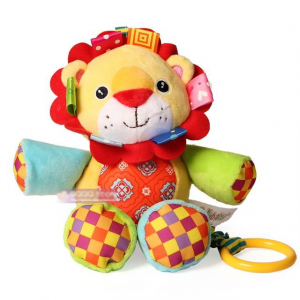 Colorful Lion Cuddly Toy