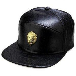 Golden Lion Head Cap