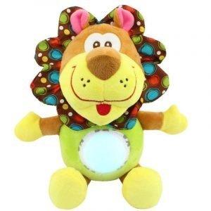 Interactive Cuddly Lion Toy