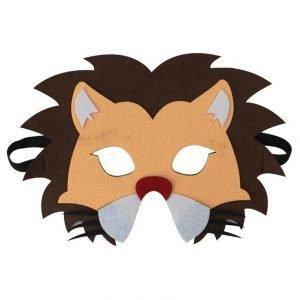 lion half mask