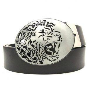 Lion Head Buckle Belt