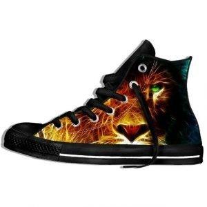 Lion Print Shoes
