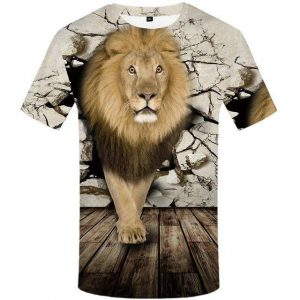 Lion Streetwear T-Shirt