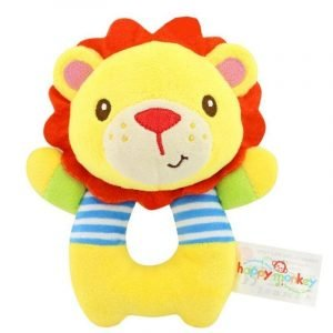 Hand Ring Cuddly Lion Toy