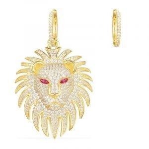 Lion Design Earrings