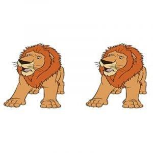 Lion King Stud Earrings