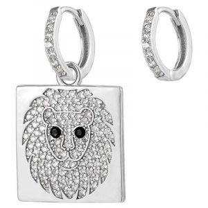 Fashion Lion Earrings