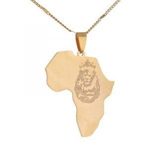 African Lion Pendant
