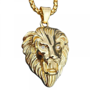 Bearded Lion Necklace