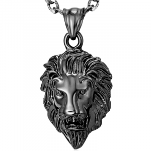 Black Lion Pendant