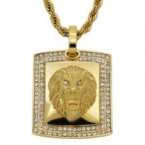 Bling Bling Lion Necklace