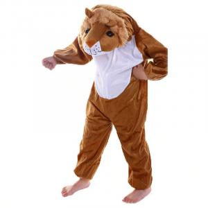 Child Lion Costume Wild Fur