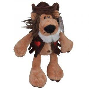 Cowboy Lion Plush