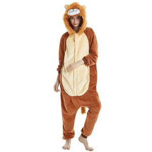 Female Lion Furry Costume