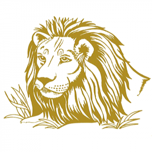 Lion Face Sticker