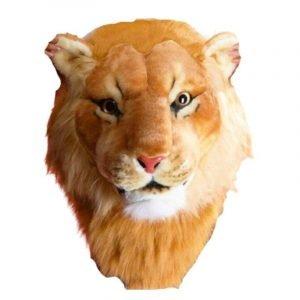 Lion Head Backpack Plush