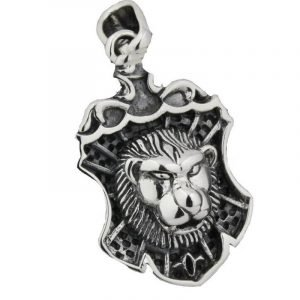 Lion Necklace with Big Lines