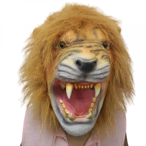 Open Lion Mouth Mask