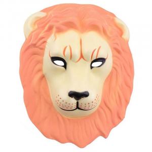 Orange Lion Adult Face Mask