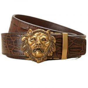 Lion Face Belt