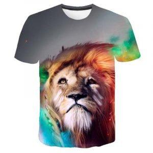 Artist Lion T-shirt