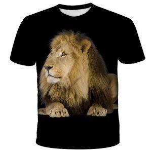 3D Printed Lion T-shirt