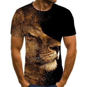 Artistic Lion T-shirt