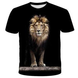 3D Printed T-shirt Lion